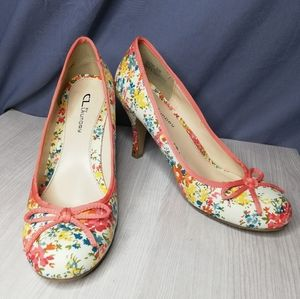 """Chinese Laundry """"Lifetime"""" floral pumps"""